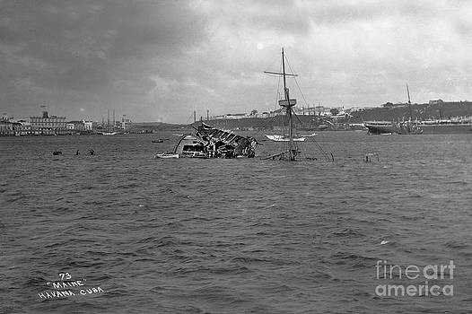 California Views Mr Pat Hathaway Archives - Wreck of the U. S. S. Maine Havana Harbor Cuba 1898