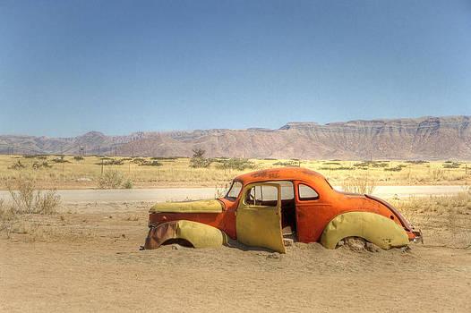 Wreck on the Highway by Juergen Klust
