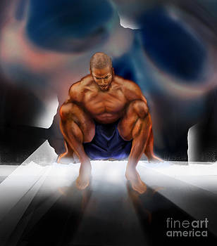 Wrestle With Darkness Struggle For The Light by Reggie Duffie