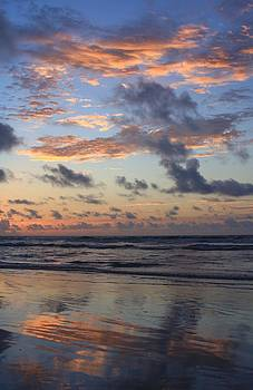 Wrightsville Beach Reflection at Sunrise by Mountains to the Sea Photo