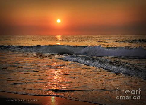Wrightsville  Beach Sunrise by Phil Mancuso