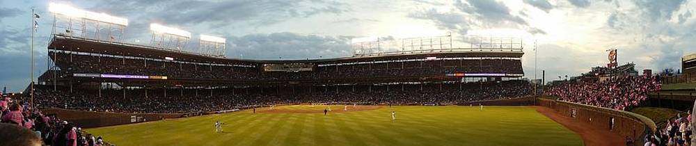 Wrigley Field by Tim Brandt