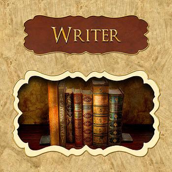 Mike Savad - Writer button