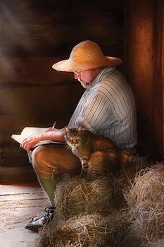 Mike Savad - Writer - Writing in my Journal