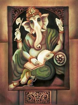 Writing Ganesh by Vishwajyoti Mohrhoff