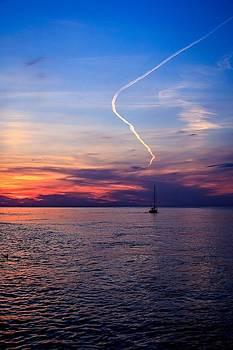 Writing in the Sky by Jim Koniar