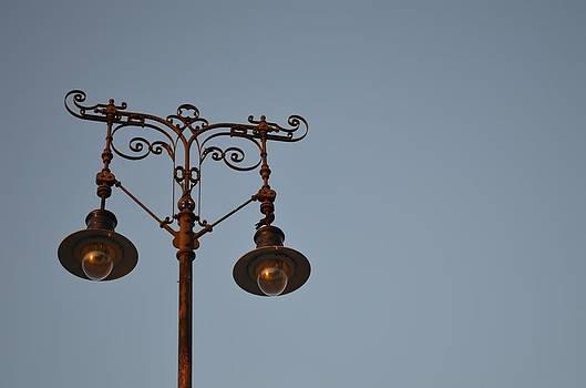 Ion vincent DAnu - Wrought Iron Lamppost