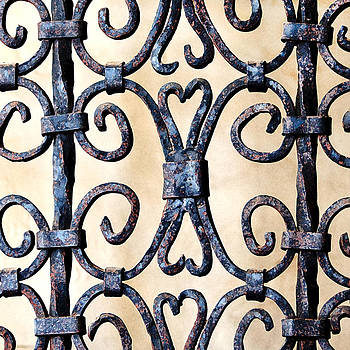 Art Block Collections - Wrought Iron Railing