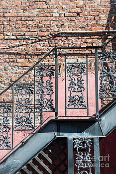 Ian Monk - Wrought Iron Staircase Key West
