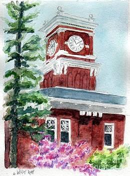 WSU Clocktower by Wendy Ray