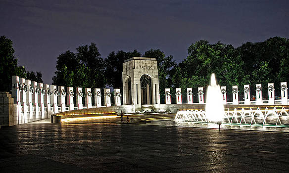 WWII memorial by Lamyl Hammoudi