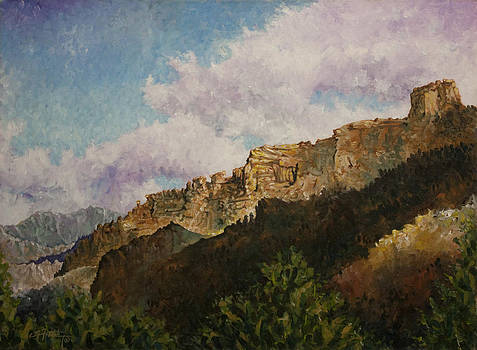 Wyoming Bluffs by C Michael French