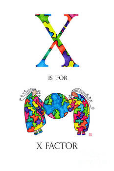 X is for X Factor by Emily Lupita Studio