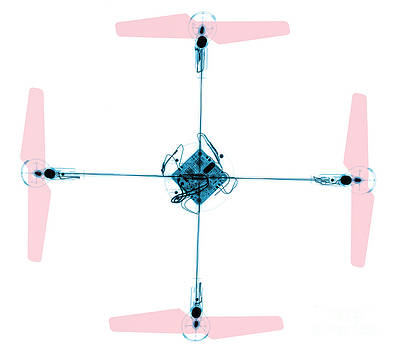 Ted Kinsman - X-ray Of A Quadcopter