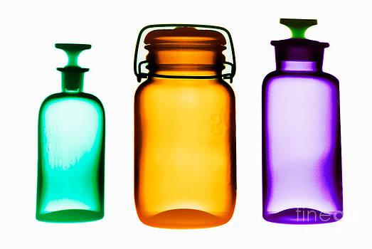Scott Camazine - X-ray Of Glassware Bottles