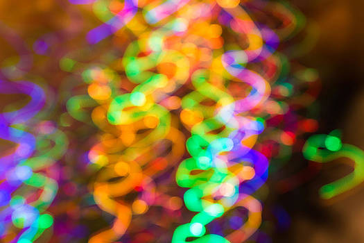 Xmas Lights 8 by Florentina De Carvalho