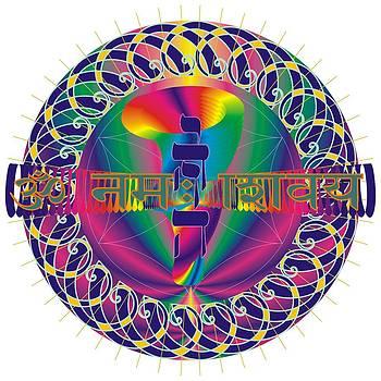 Y H V H - O M Namaha Shivaya by Andre Angermann