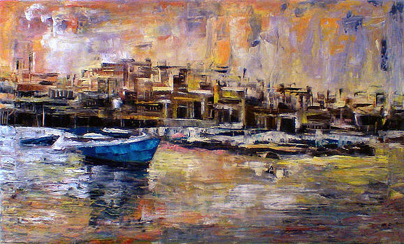 Yafa city by Deeb Marabeh