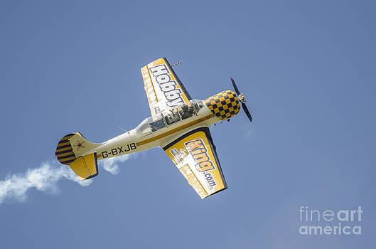 Simon Pocklington - Yak 52 G-BXJB