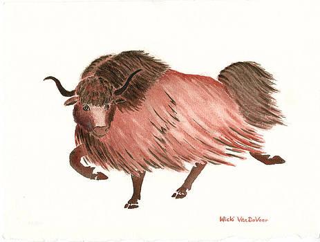 Yak Dance by Wicki Van De Veer