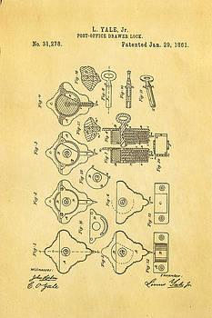 Ian Monk - Yale Lock Patent Art 1861