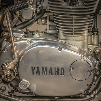 Ian Monk - Yamaha Racing Bike Engine Kick Start - Square
