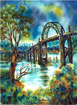 Yaquina bay Bridge by Ann  Nicholson