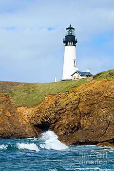 Jamie Pham - Yaquina Head Lighthouse on the Oregon Coast.