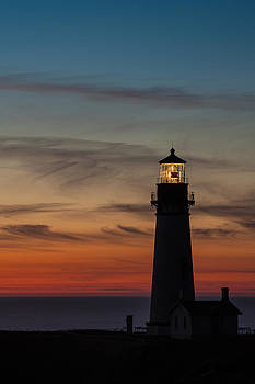 Yaquina Head Sunset by Craig Pifer