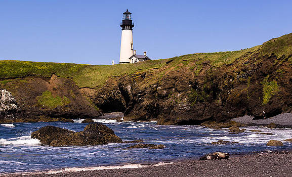 Yaquina Light house by Blanca Braun