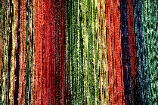 Yarn colors by Xanat Flores