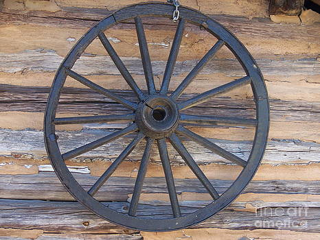 Yates Mill Wagon Wheel by Kevin Croitz