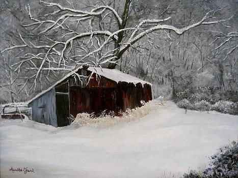 Ye Olde Red Barn by Martha Efurd