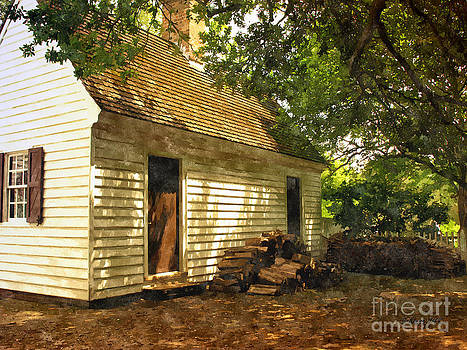 Shari Nees - Yee olde wood Cottage