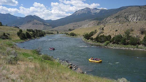 Yellowstone River  by Jeffrey Akerson