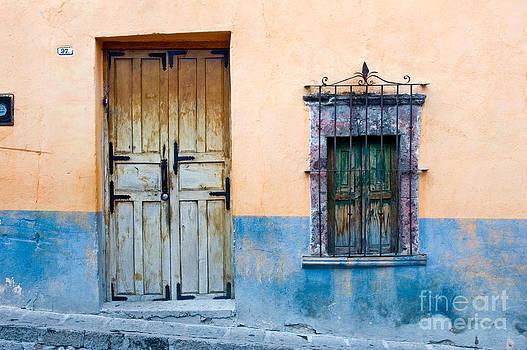 Oscar Gutierrez - Yellow and Blue Wall