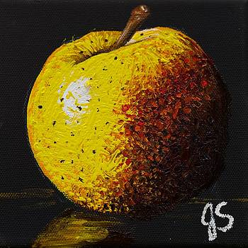Yellow Apple by Joyce Sherwin
