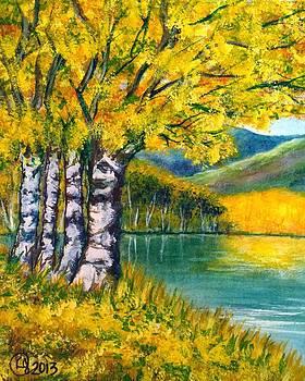 Yellow Bank by Catherine Jeffrey