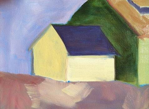 Yellow Barn by Molly Fisk