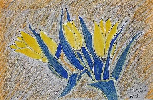 Yellow beauty by Soheila Madani