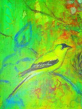 Yellow Bird by Bonnie Bardos
