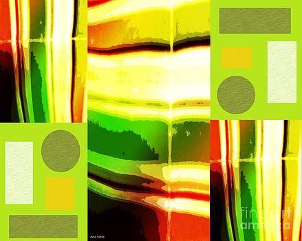 Yellow Bliss by Ann Calvo