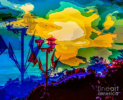 Algirdas Lukas - Yellow blue sunset