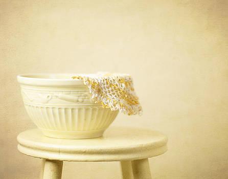 Yellow Bowl by Cheryl McCain
