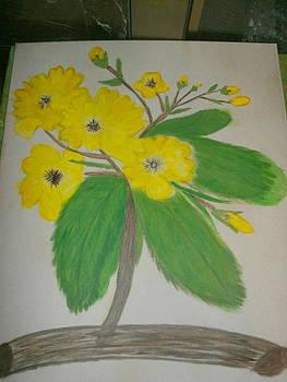 Yellow Bush by Ketina Winston