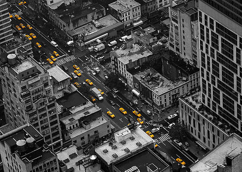 Yellow Cabs - New York City by Thomas Richter