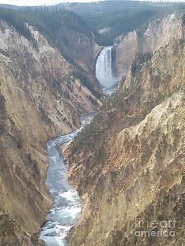 Yellow Canyon Falls by Visual Renegade Art