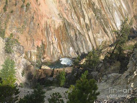 Yellow Canyon River by Visual Renegade Art