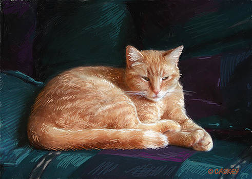 Yellow Cat by Bethany Caskey