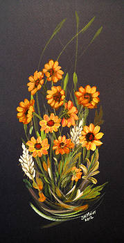Yellow Daisies by Dorothy Maier